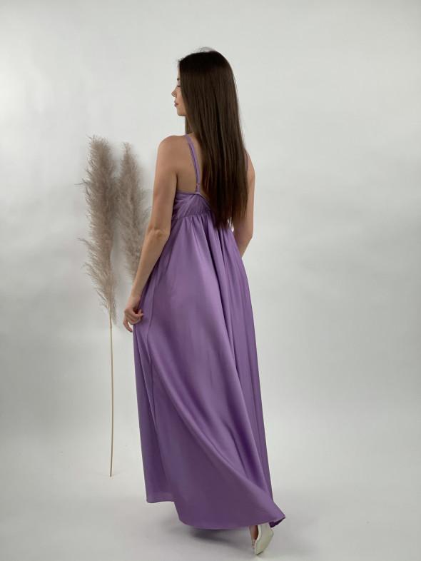 Šaty dlhé na ramienka 9972