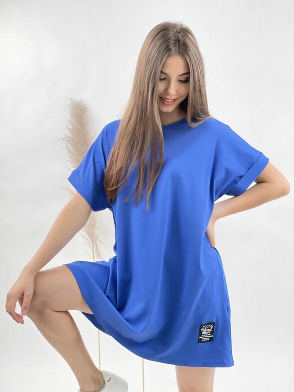 Šaty krátke teplákové 51971