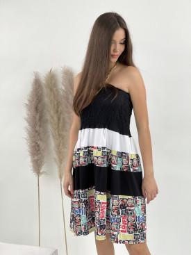 Šaty po kolená BUNNY 50801