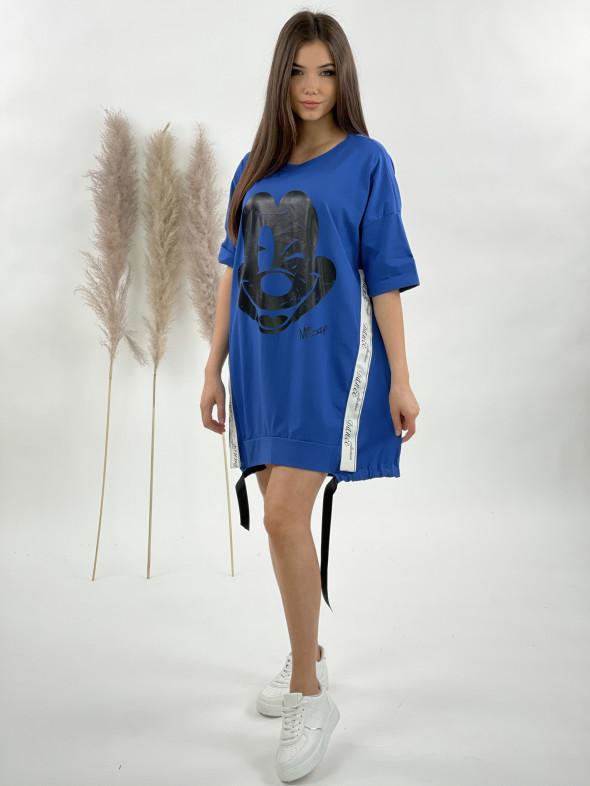 Šaty teplákové Mickey 92127