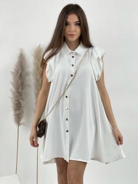 Šaty volánkový rukáv 52231
