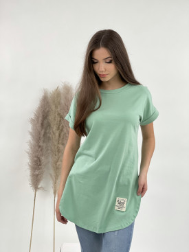 Tričko prodloužené krátký rukáv 52053