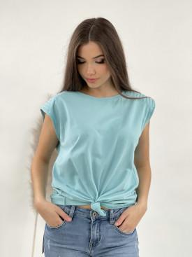 Tričko vypchaté ramená 23033