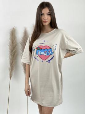 Šaty nad kolená ANGEL 121728