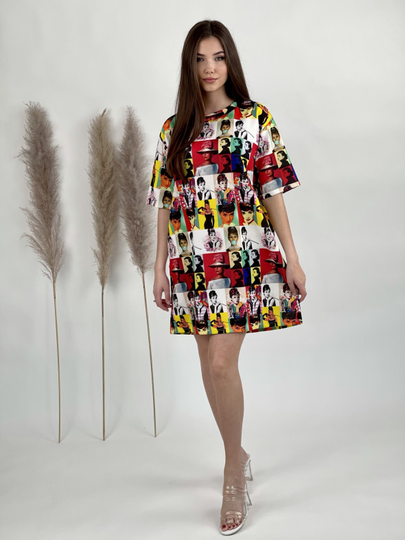Šaty krátke Audrey 0505