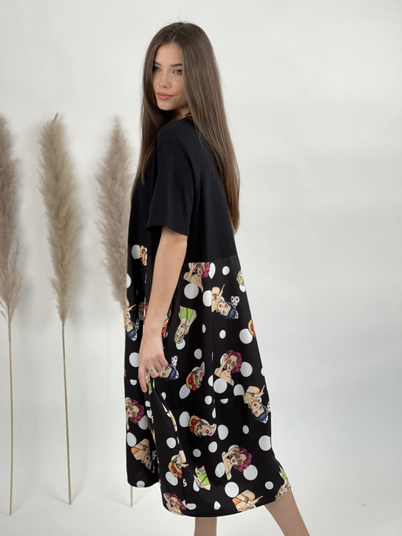 Šaty retro girls 50753