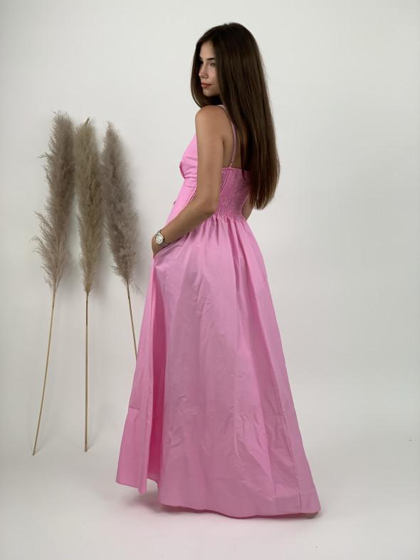 Šaty dlhé na ramienka 33937