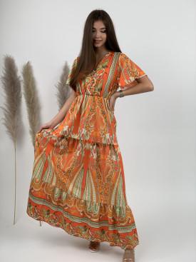 Šaty dlhé orientálne 20357