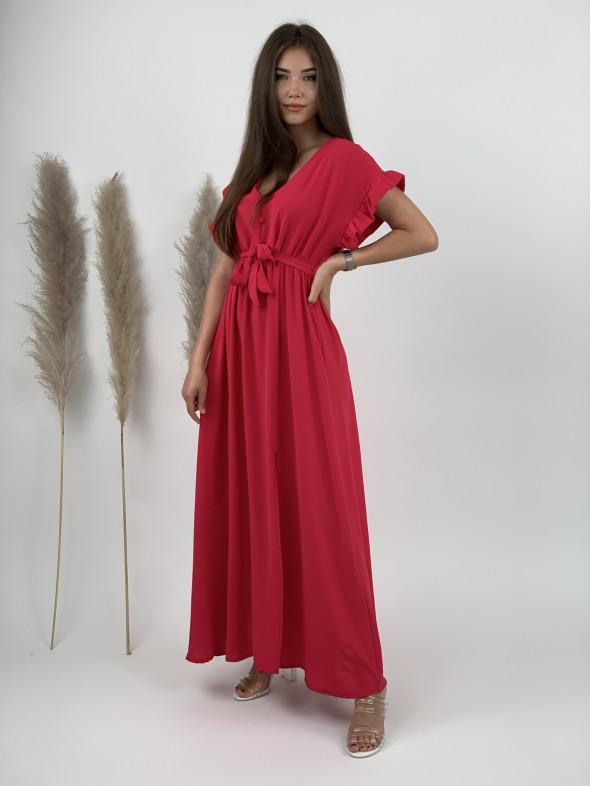 Šaty dlhé s viazaním 21126