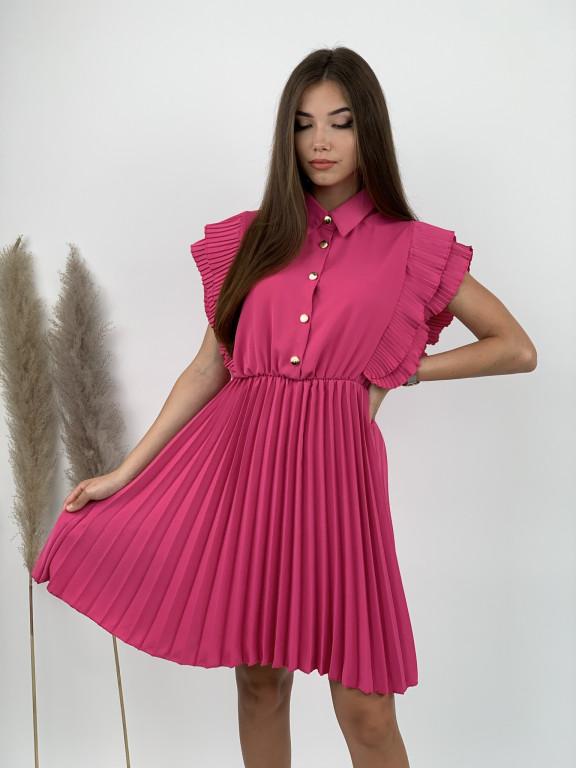 Šaty plisované 5730