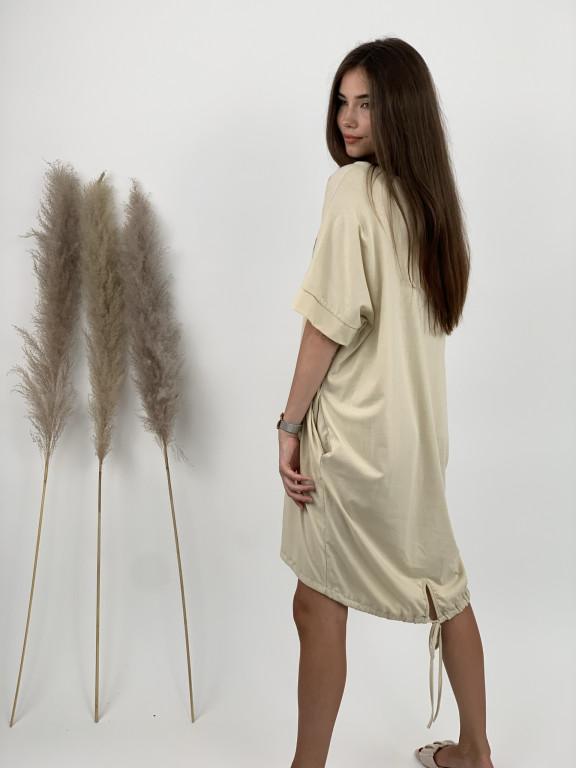 Šaty teplákové D*OR 16058