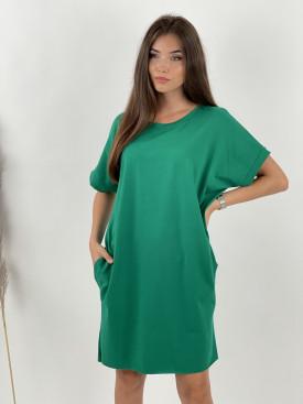 Šaty teplákové krátke KR