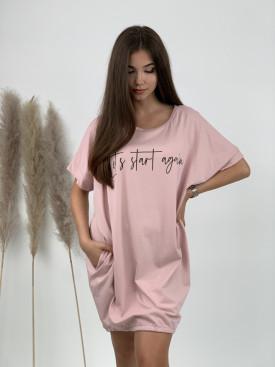 Šaty teplákové Lets start 22110