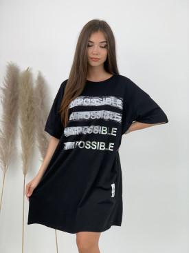 Šaty teplákové POSSIBLE 21037