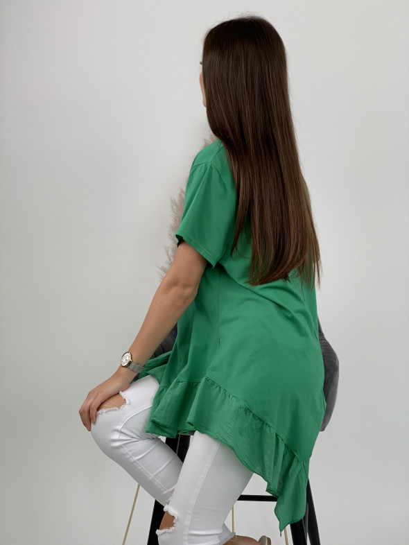 Tričko volánový spodok 9117