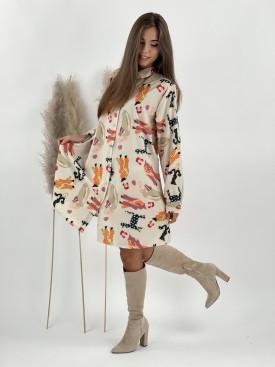 Šaty košeľové Lady 8991