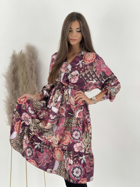 Šaty s gumičkou v páse Valeria 18931