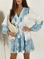Šaty krátke orientálne vzory GICHY 21266