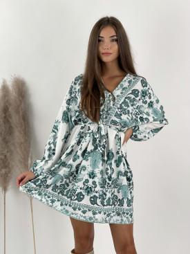 Šaty krátke s viazaním Vanessa 85752