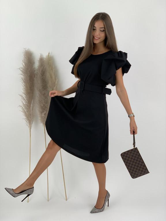 Šaty s volánovými rukávmi Brittany 21556