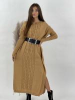 Šaty svetrové so slučkami Esme