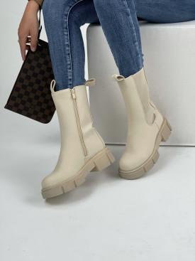 Topánky QT16 Amber béžové