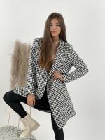 Kabát na gombík PEPITO 95024
