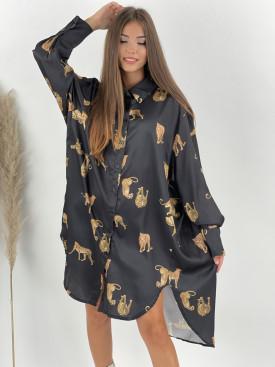 Šaty košeľové GEPARD 53213