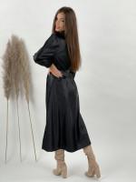 Šaty koženkové dlhé MADISON 1235