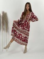 Šaty kvetované midi Florence 21286
