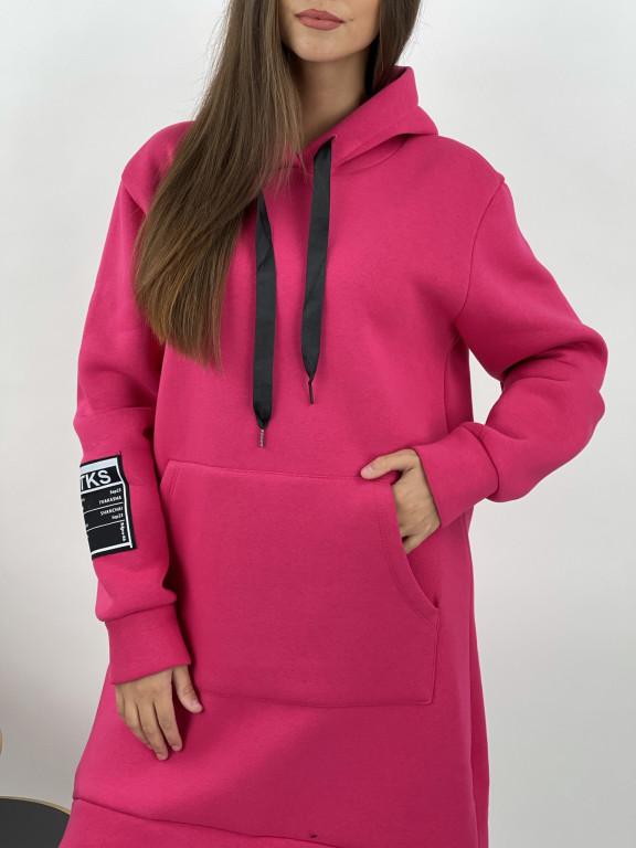 Šaty mikinové zateplené Nathalia 72135