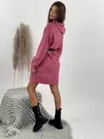 Šaty svetrové s kapucňou Zelaya 17228