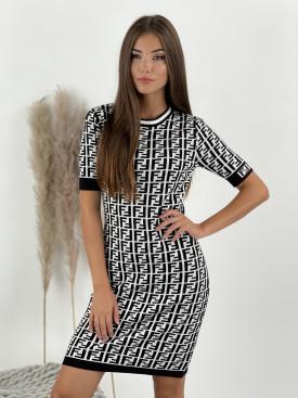 Šaty z jemného úpletu FF Sara 202015