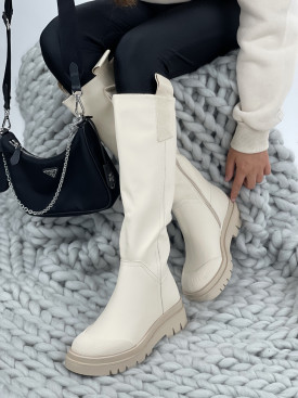 Topánky Amy QT27 béžové