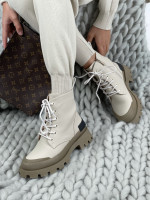 Topánky Casia UK71 béžové