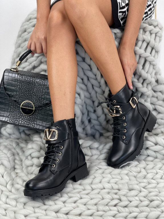 Topánky NC1055 Valentine čierne