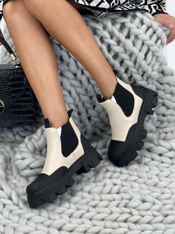 Topánky NC1250 Carroll béžové