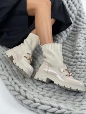 Topánky YK13 Garcia béžové