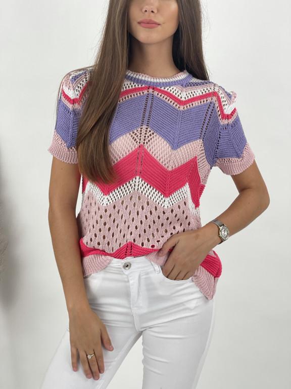 Tričko háčkované Ellie 9764