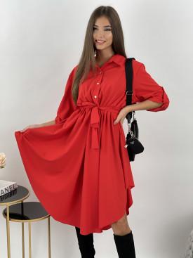 Šaty s gumičkou v páse Siena 9718