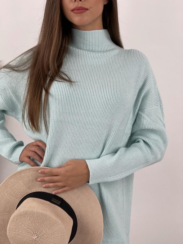 Šaty úpletové stojačik SARA 2072