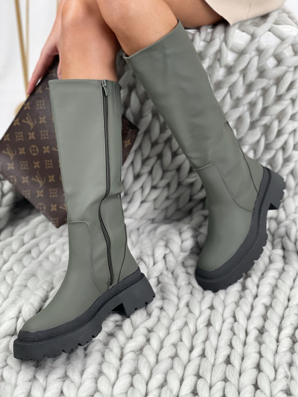 Topánky QT23 Vanessa zelené