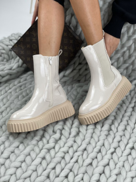 Topánky RB118 NOELLE béžové