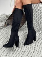 Topánky UK27 Marsala čierne
