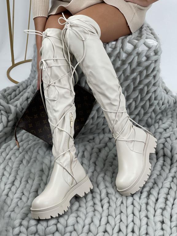 Topánky YK18 Kimberly béžové