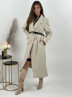 Kabát dlhý s opaskom PALMER 2925