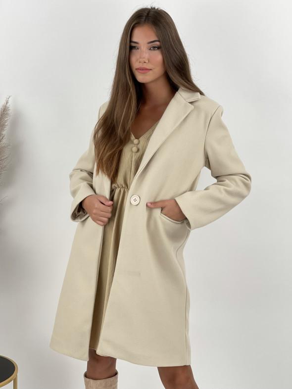 Kabát na gombík Aleah 41291