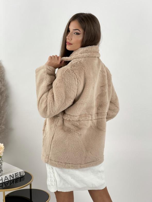 Kabát so sťahovačkou Nazario 373