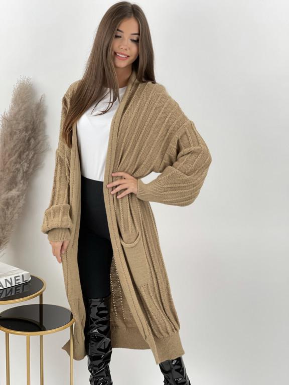 Kardigan svetrový s vačkami Oscar 3009