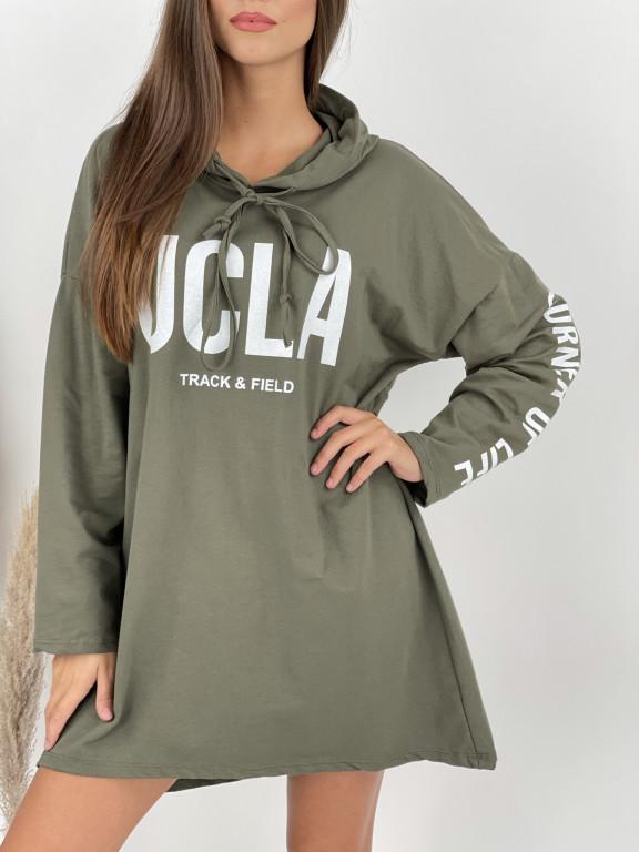 Šaty mikinové UCLA 2595